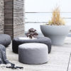 Rocket Daybed, graphite_tiny Moon, graphite, grey_cushions