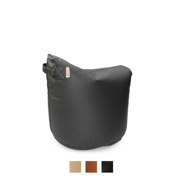 Satellite 48 Leather Stool