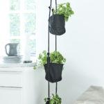 Vertical Flowerpots_Black. Room