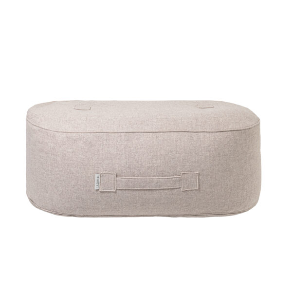 Oblong Pouf Wool