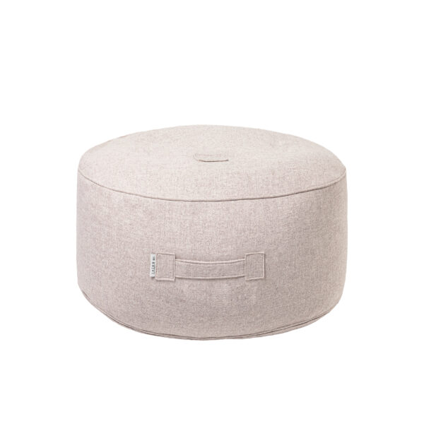 Tiny Moon Pouf en laine